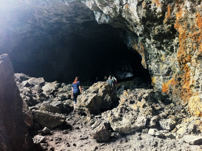 Indian Tunnel, Craters of the Moon, Idaho