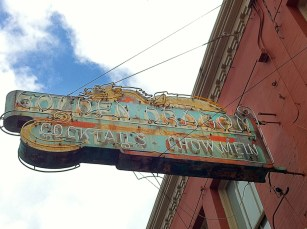 Neon sign. Portland, Oregon