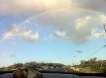 Full Rainbow at Olowalu Beach