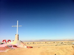 The Back of Salvation Mountain