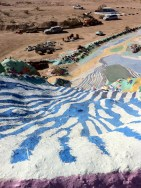 Looking Down on Salvation Mountain