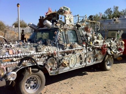 Broken Toy Truck, Slab City