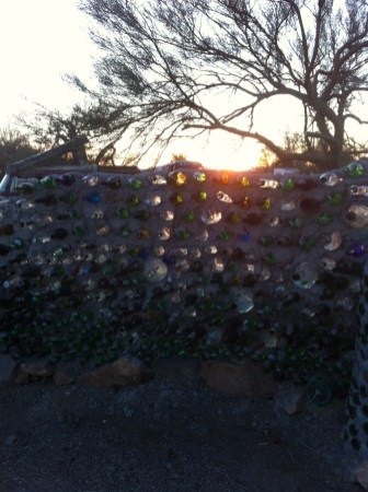 East Jesus Bottle Wall, Slab City