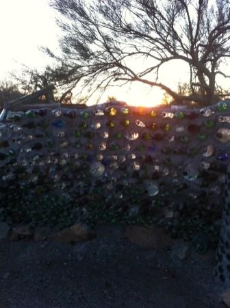 East Jesus Bottle Wall, Slab City