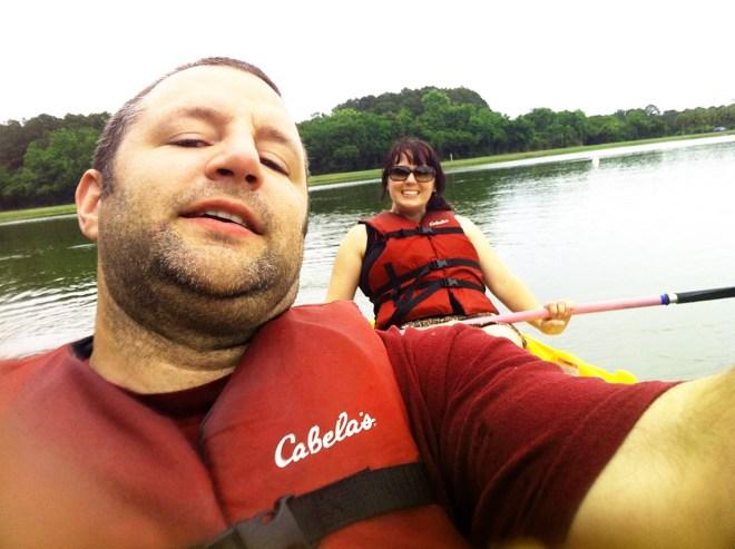 kayak James Island