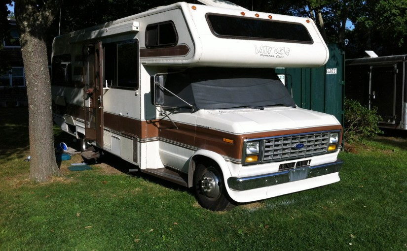 Don't Replace Your RV Windshield Cover, ReNew It With Vinyl Spray Paint!
