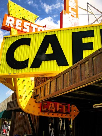 Cafe, Hwy 56, CA