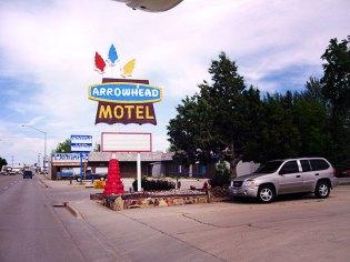 Arrowhead Motel, Hwy 16, Sundance, WY