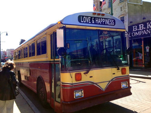 For the love of old buses. This was in Memphis, TN.