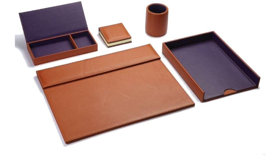 chedovre cuir d exception collection accessoires de bureau