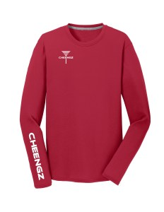 PC381Lr CHEENGZ Aint Right Driver Tee Red