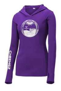 Holy Rollers Ladies Dry Fit Hoodie Disc Golf Clothing apparel