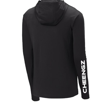 Disc Golf Dry Fit Hoodie, Disc Golf Tournament Polo, disc golf tee, Cheengz Disc Golf Tee, cheengz disc golf tee, dry fit disc golf tee, long sleeve frisbee golf tee, disc golf hoodie