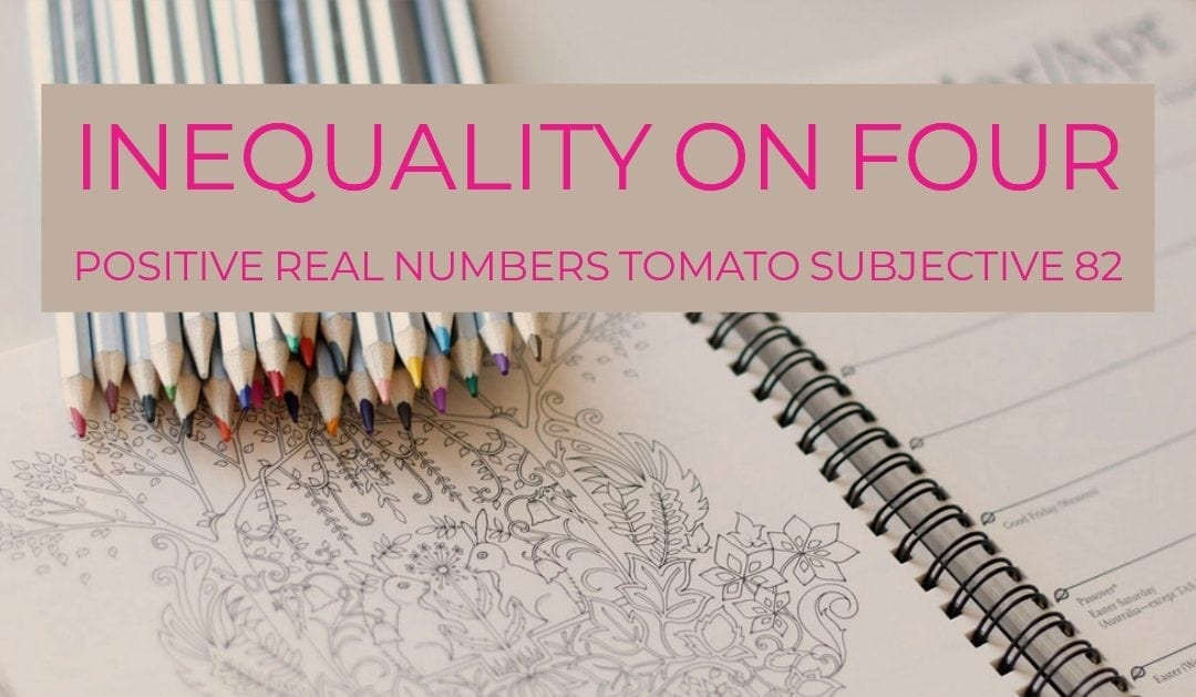 Test of Mathematics Solution Subjective 82 – Inequality on four positive real numbers