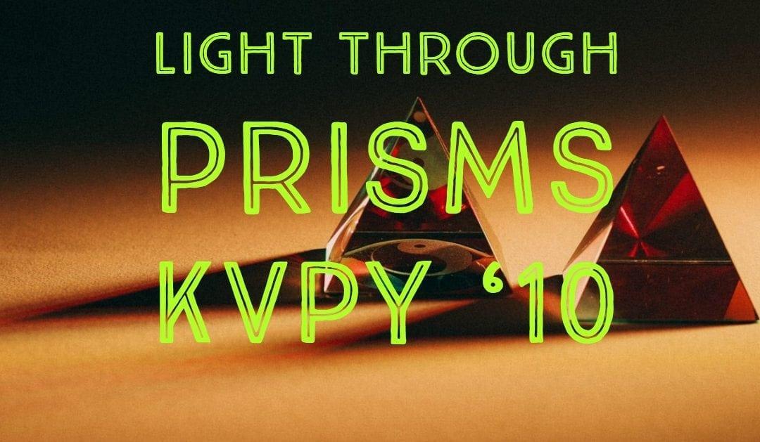 Light through Prisms (KVPY '10)