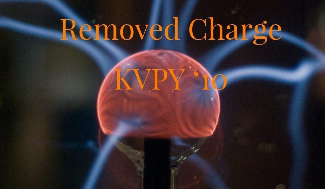 Removed Charge (Kvpy '10)