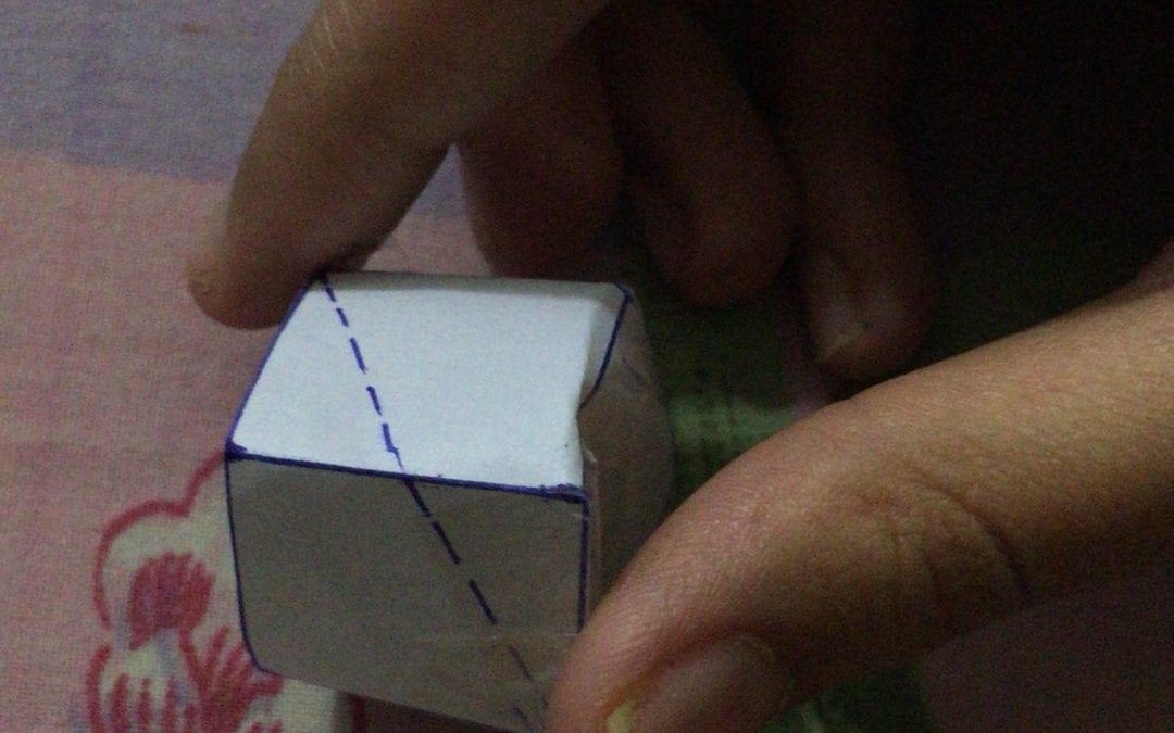 Shortest Path on Cube
