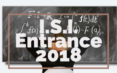 I.S.I. B.Stat, B.Math Entrance 2018 Subjective Paper