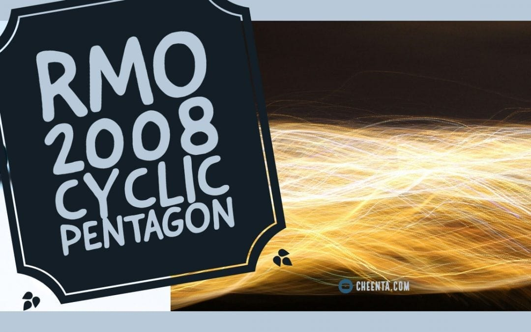 RMO 2008 Solution of Problem 1 Cyclic Pentagon