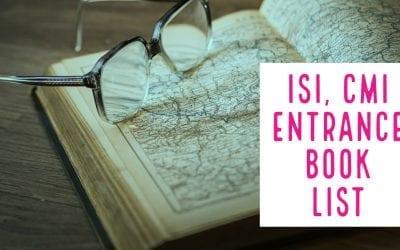 ISI – CMI entrance Book List