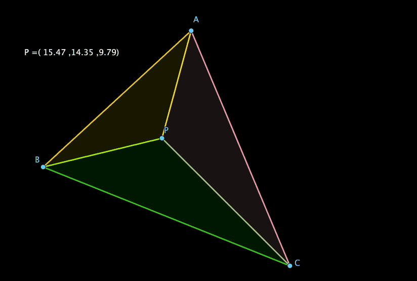 Really understanding Barycentric coordinates
