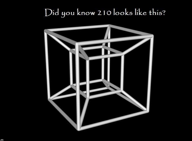 Natural Geometry of Natural Numbers