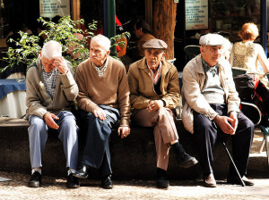 Me and mah bros hanging outside my home in 70 years