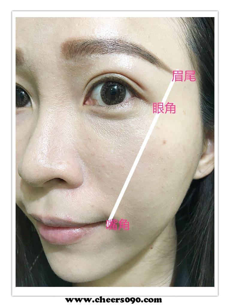 美妝 唇膏 豆沙紅 唇膏使用方式 眉粉 畫眉毛
