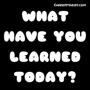 WHAT HAVE YOU LEARNED TODAY  - Sobriety Revels (poem)