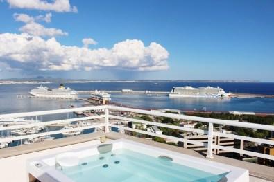 Panoramablick vom Hotel Horizonte