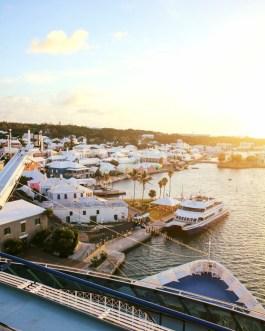 Morgenatmosphäre auf Bermuda