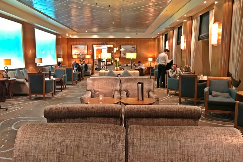 Queen Mary 2 Kurzkreuzfahrt_3_Chart Room