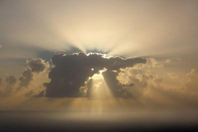 Sonnenuntergang im Karibischen Meer