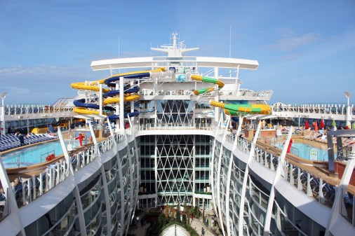 Rutschpark der Symphony of the Seas
