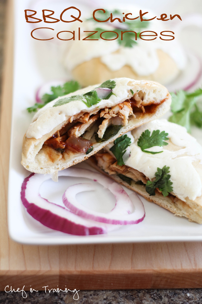 quick and easy dinner ideas, simple dinner ideas, bbq chicken calzones are a perfect meal for any budget
