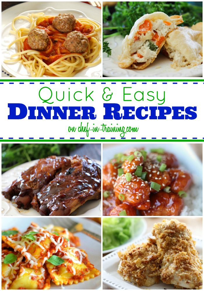 Quick And Easy Food Recipes
