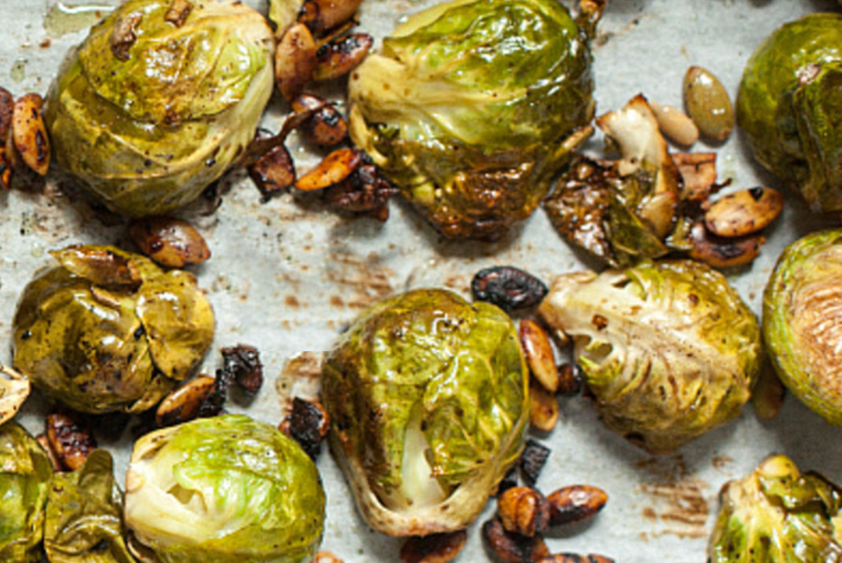 Holiday Hosting | Chef & Shower Recipes | Brussel Sporouts