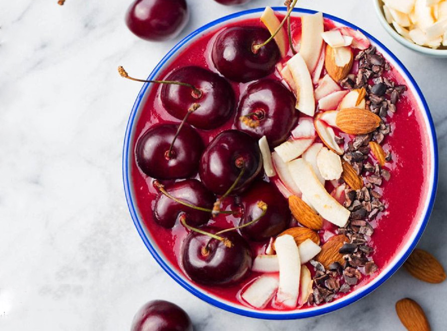 Cherry Coconut Cacao Smoothie Bowl | Chef & Shower Recipes | Breakfast