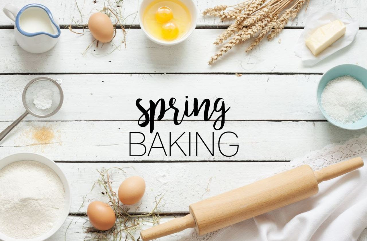 Spring Baking | Chef & Shower Blog | Chef & Shower | Kitchen and bath blog