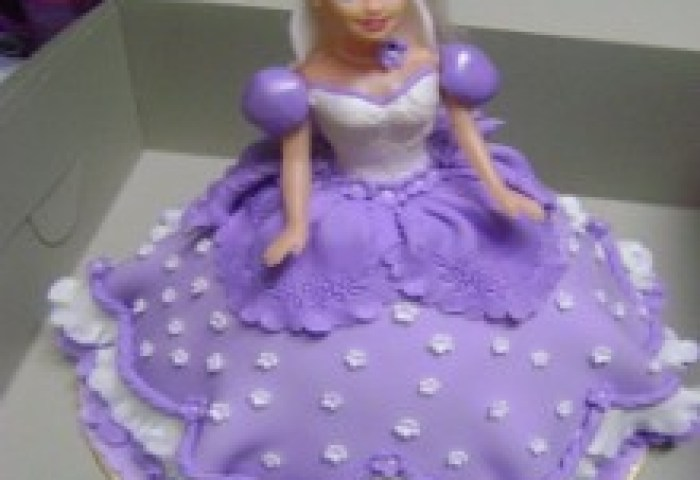 Buy Purple Lady Doll Cake Dc11 Online In Bangalore Order Purple