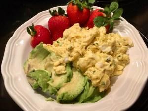 Scrambled Breakfast~ The Weight Loss Trifecta