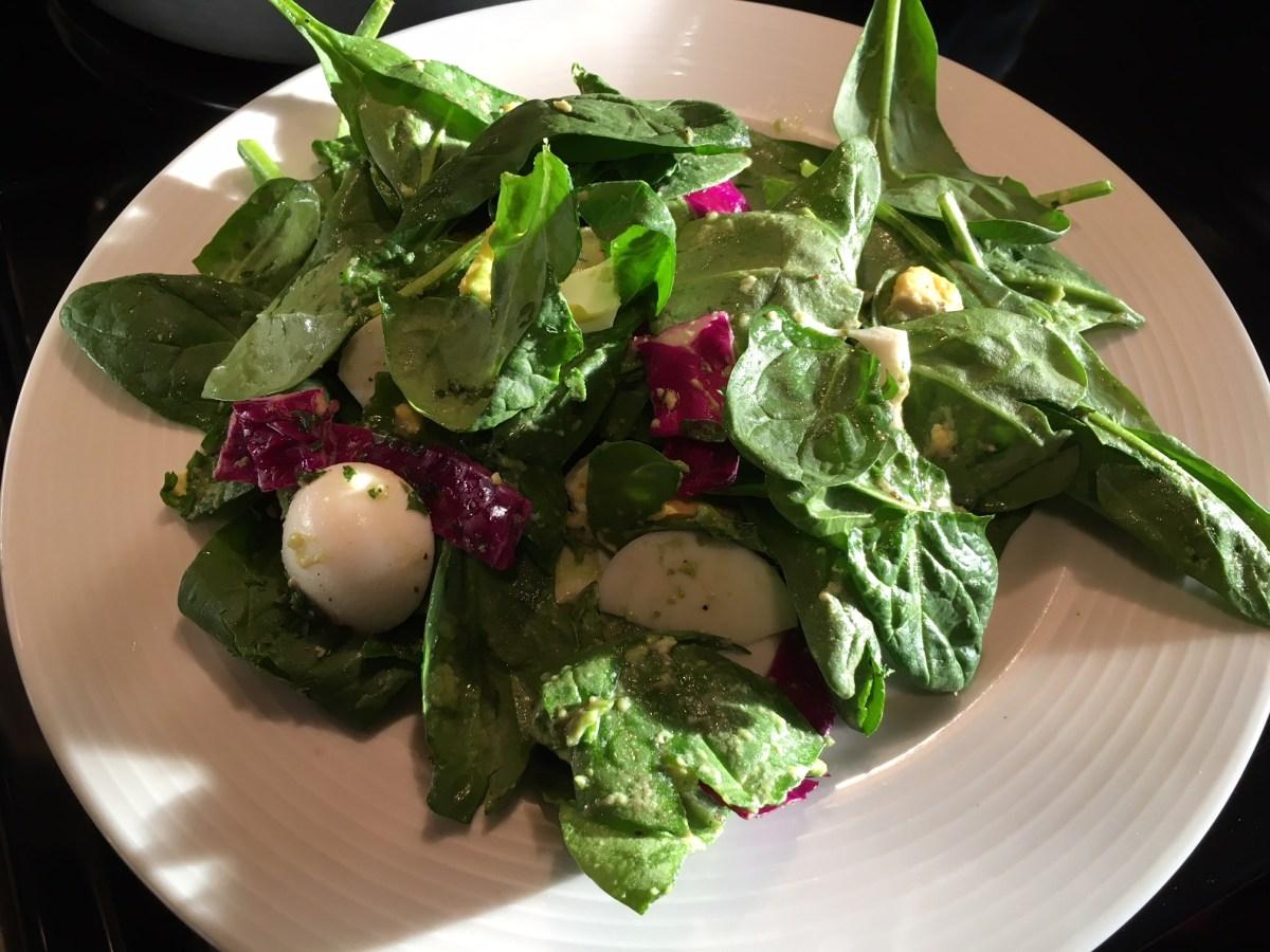 Brainiac Salad!