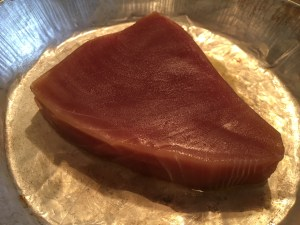 Yellowfin Tuna with Orange Juice