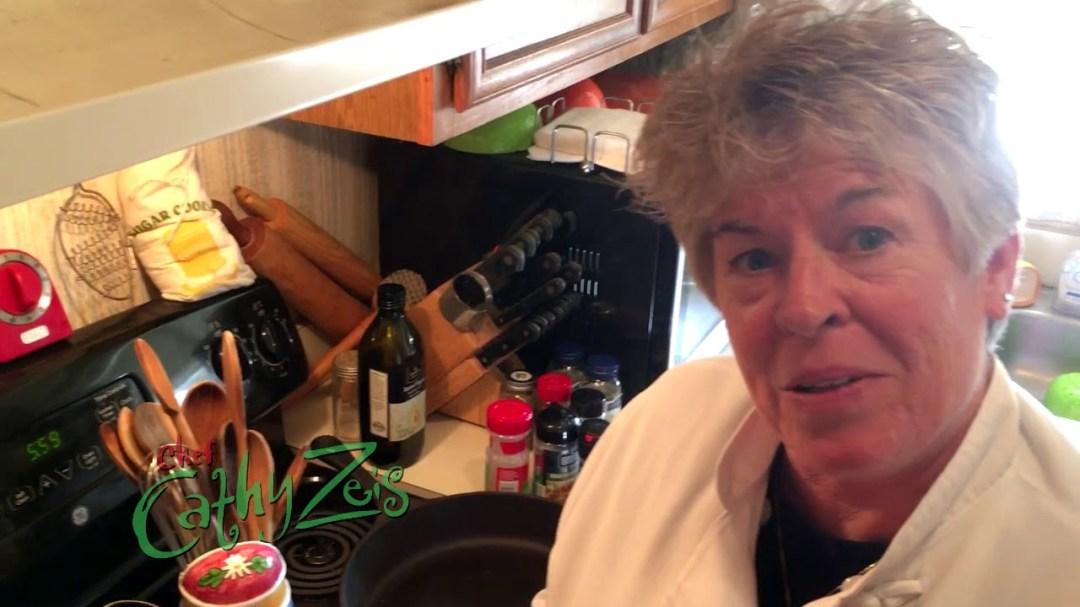 Chef Cathy Cooks: Sautéed Zucchini and Yellow Squash