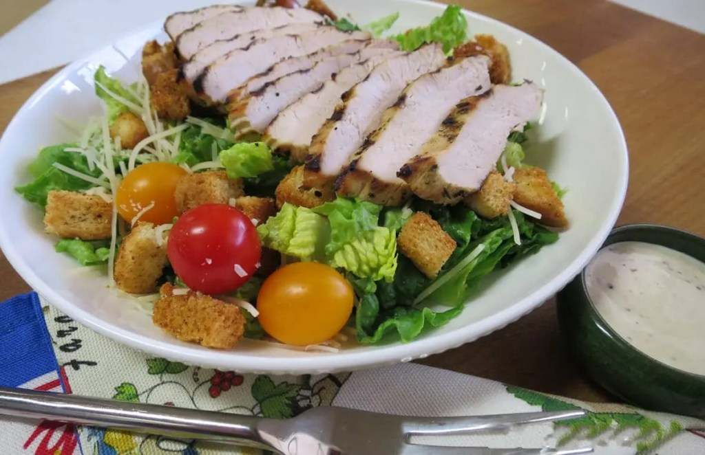 House Salad with Chicken