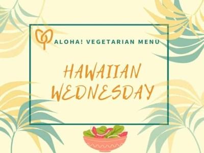 Hawaiian Vegetarian Boxed Lunch