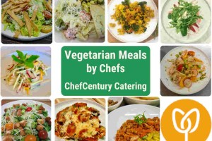 Chefcentury Catering vegetarian lunches