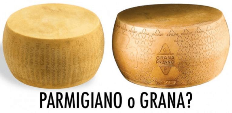 Parmigiano o Grana