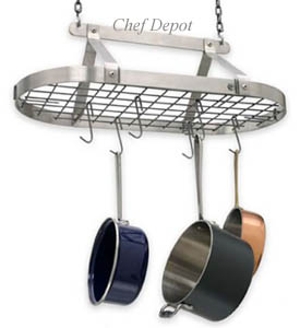 Stainless Pot Rack Enclume Has Introduced The New Decor