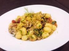 Rosario Marano: Gnocchetti con le sarde e mollica di pane atturrata ed aromatizzata al basilico.